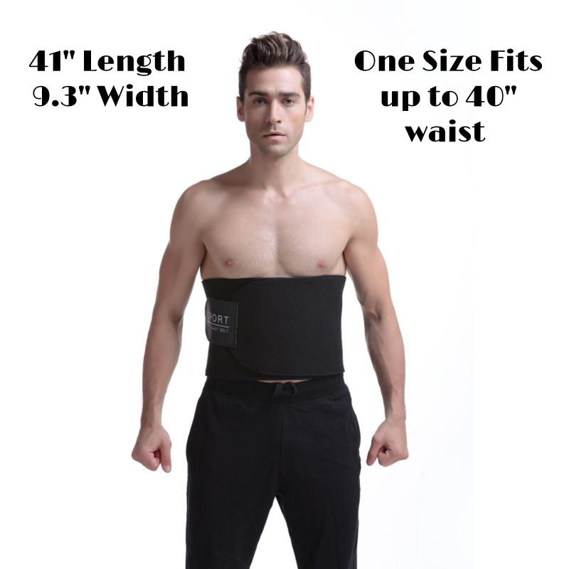 Waist Trimmer for Men Stomach Wrap Slim Sweat Sport