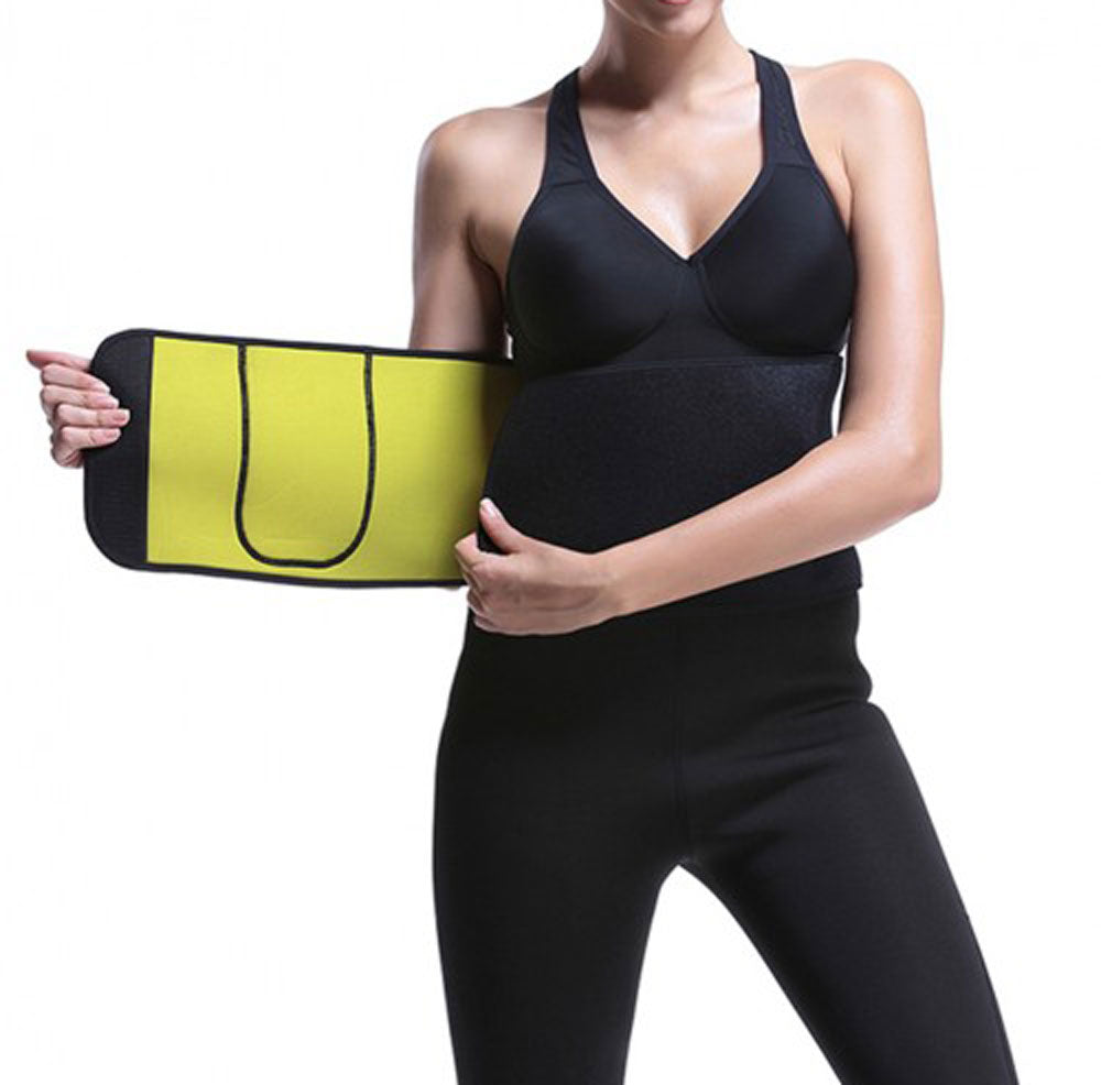 Women/Men Waist Training Cincher Sweat Belt