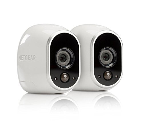 Arlo Security System by NETGEAR - 2 Wire-Free HD Cameras - Indoor/Outdoor