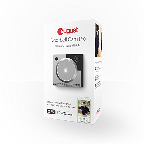 August Doorbell Cam Pro, 2nd Generation - Silver