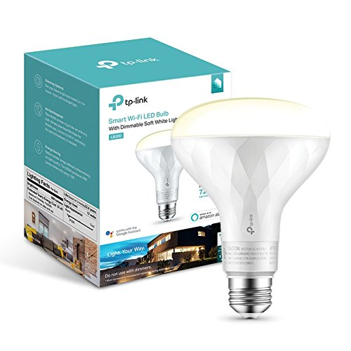 TP-Link Smart LED Light Bulb – Wi-Fi, Soft White, Dimmable
