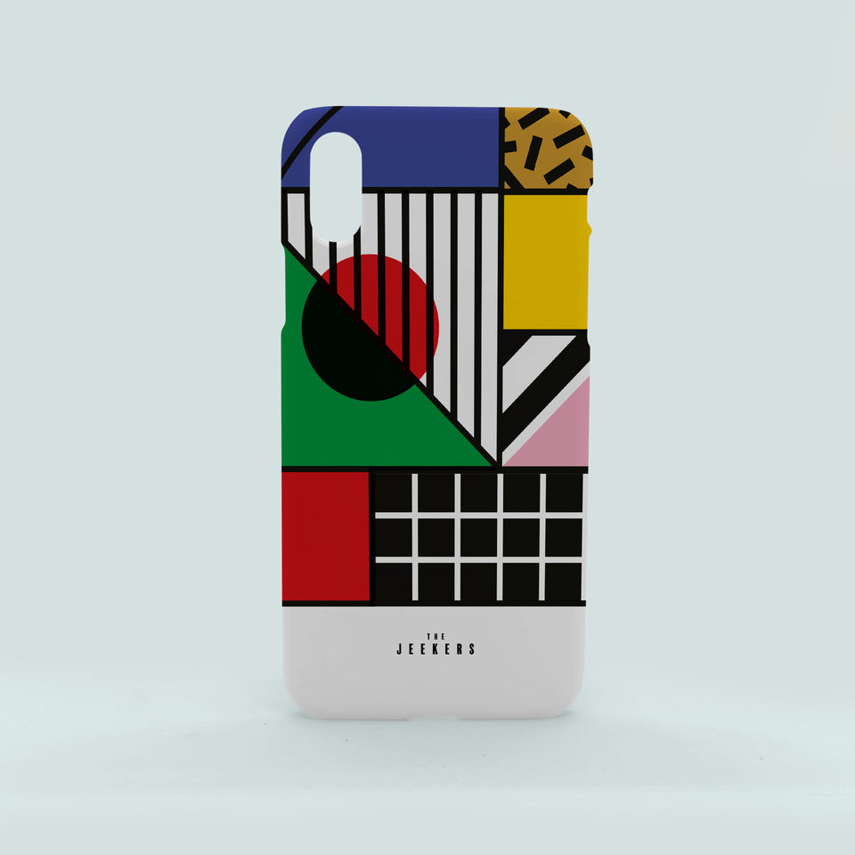 Iphone X japan Mondrian Jeekers