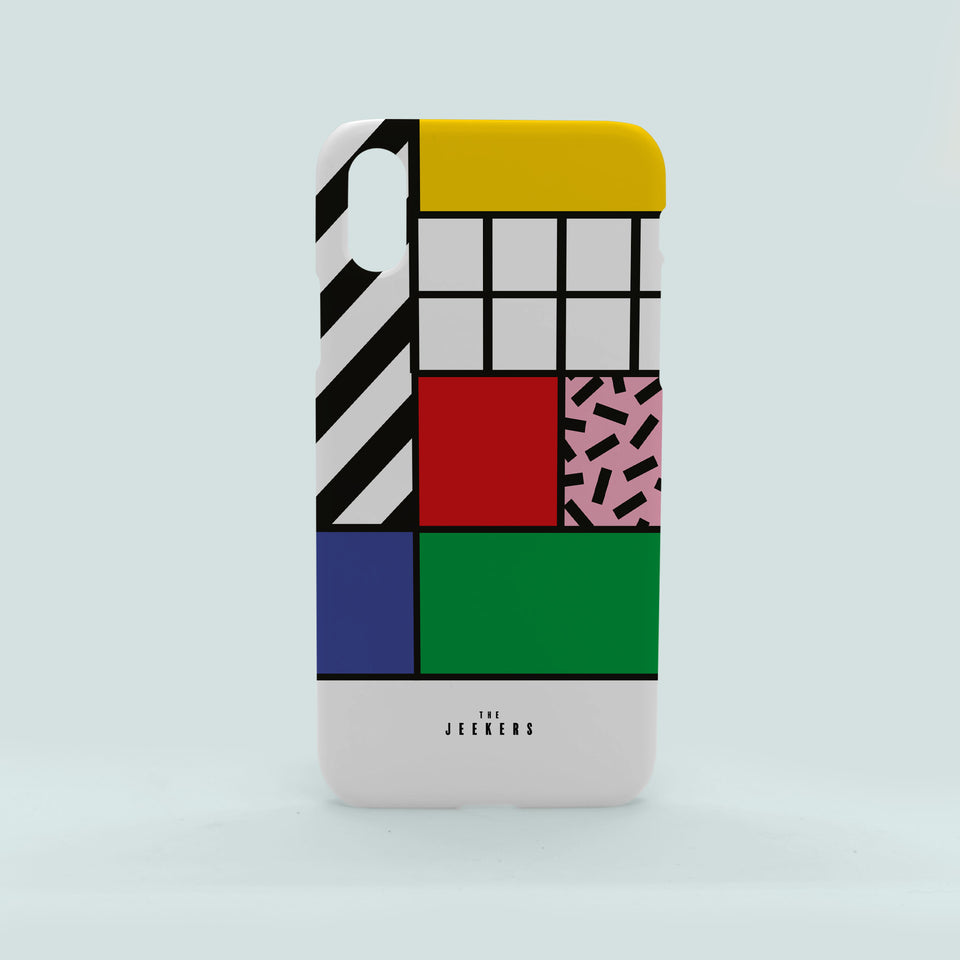 Iphone X grid Mondrian Jeekers