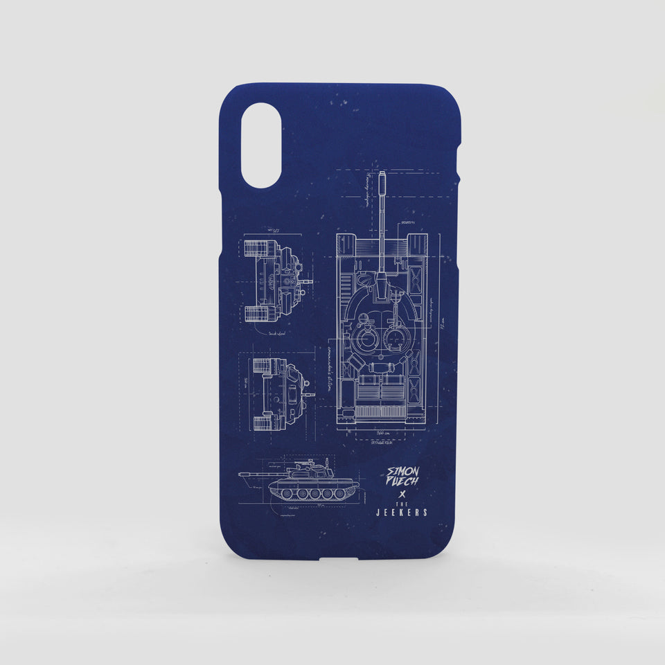Iphone X blueprint simon puechs Jeekers
