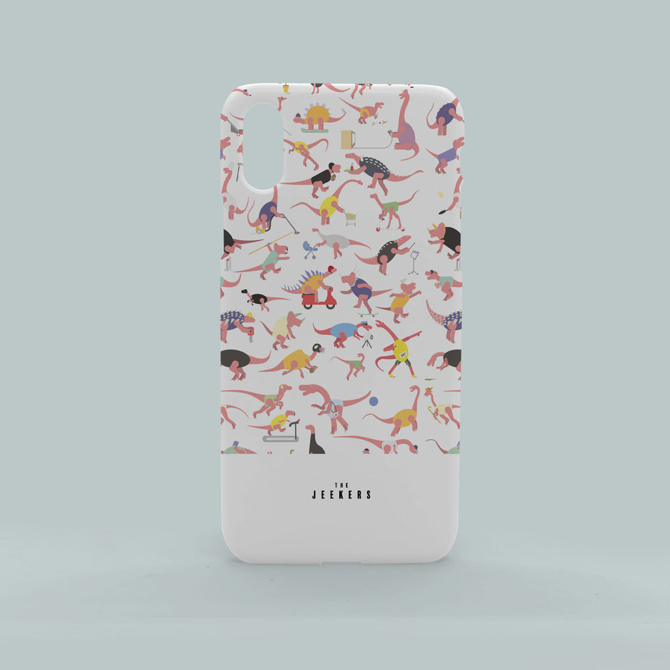 Iphone X dino pattern Jeekers