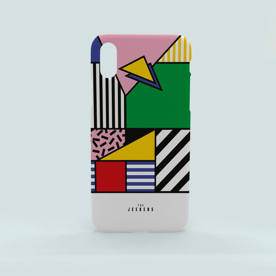 Iphone X forms Mondrian Jeekers