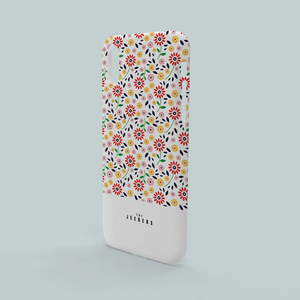 Iphone X flowers pattern Jeekers