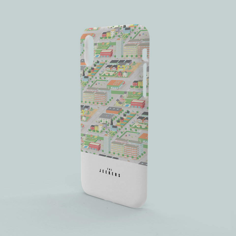 Iphone X cityday pattern Jeekers