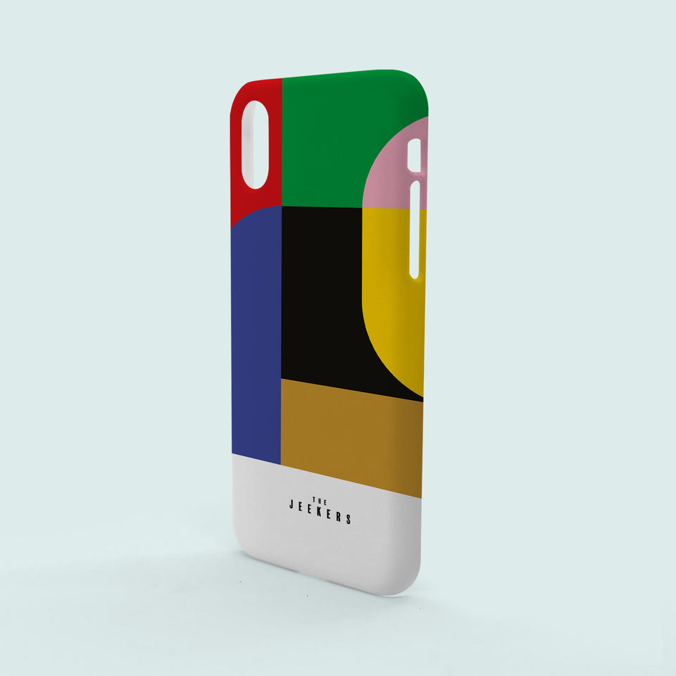 Iphone X Classic Mondrian Jeekers