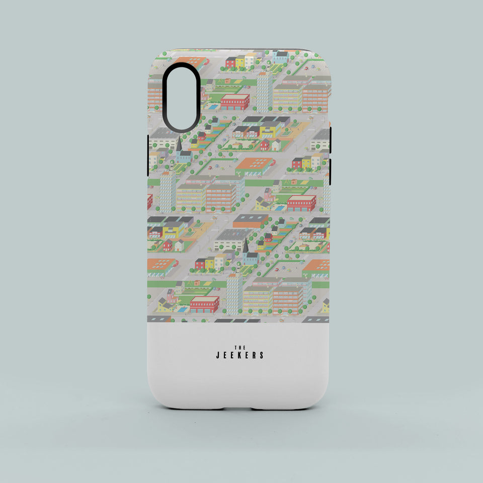 Iphone 8 cityday pattern Jeekers