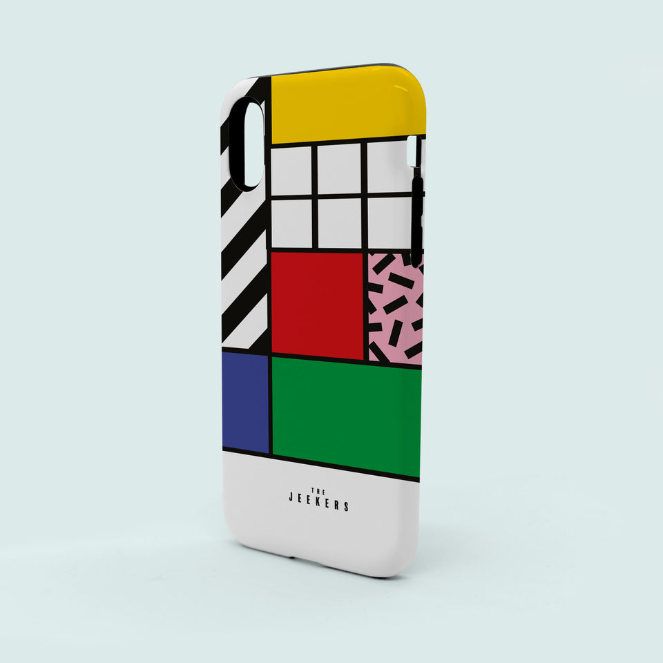 Iphone 8 grid Mondrian Jeekers