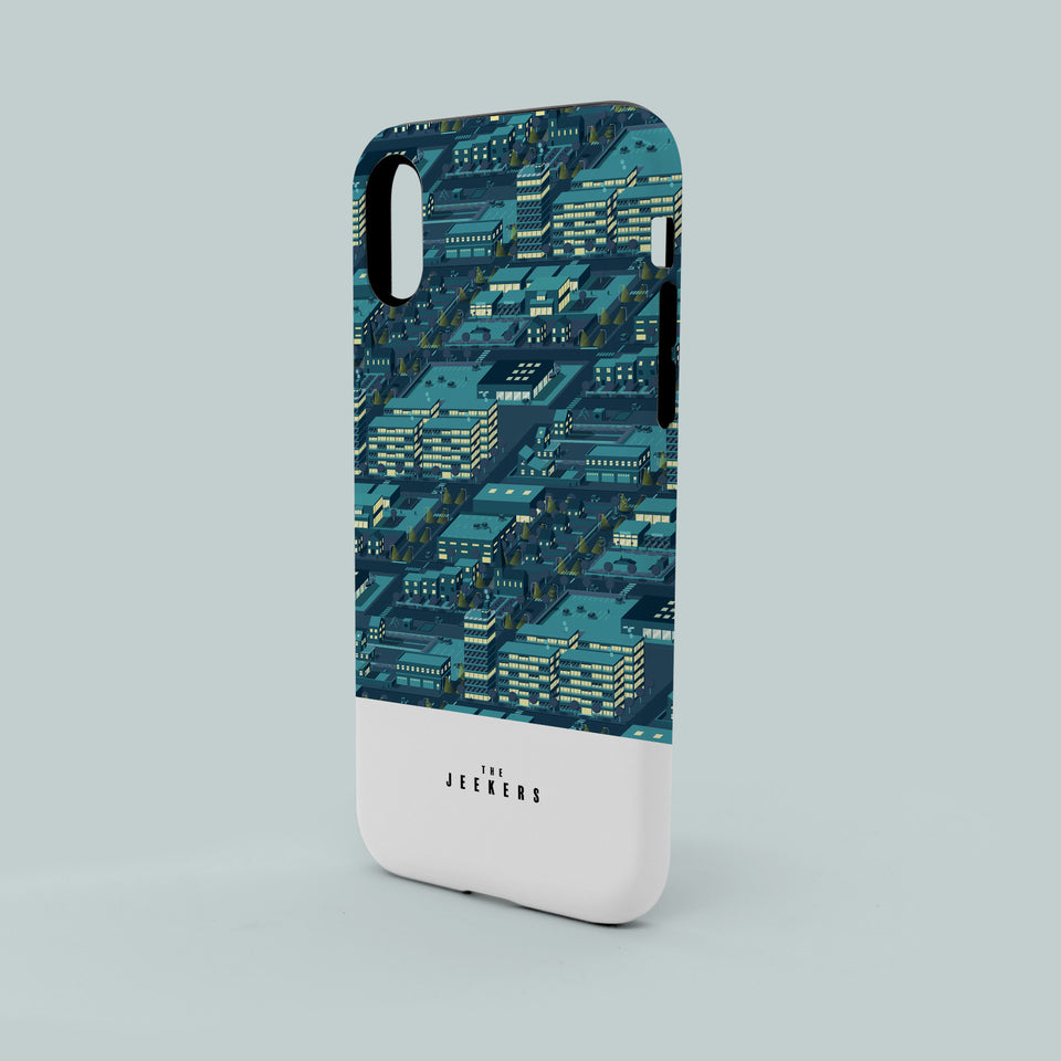 Iphone 8 citynight pattern Jeekers