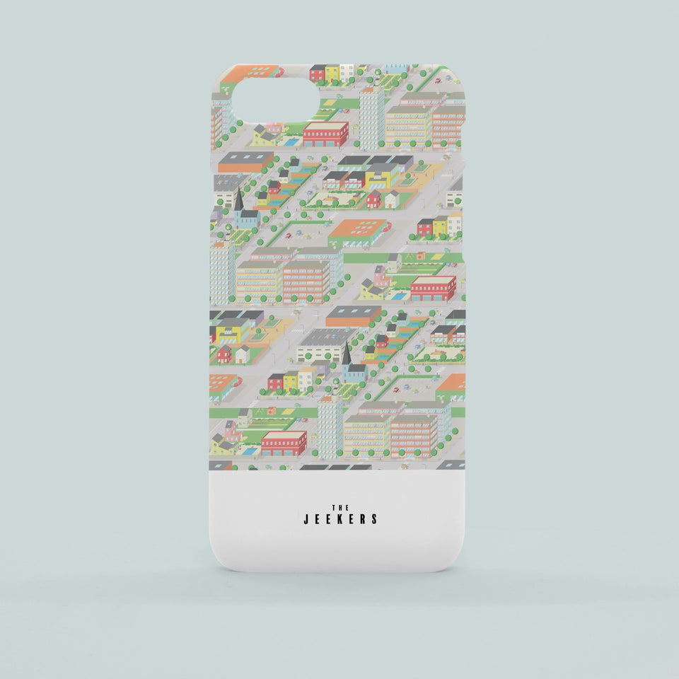 Iphone 8 Plus cityday pattern Jeekers