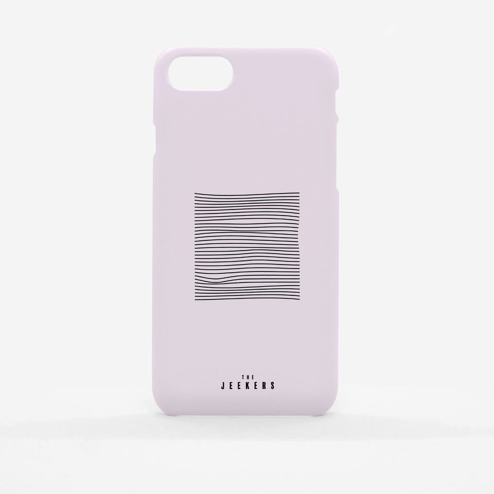 Iphone 8 Plus pinkdivision minimaliste Jeekers