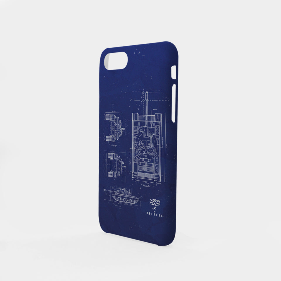 Iphone 8 Plus blueprint simon puechs Jeekers