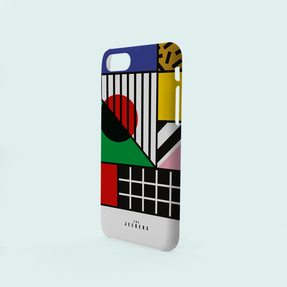 Iphone 8 Plus japan Mondrian Jeekers
