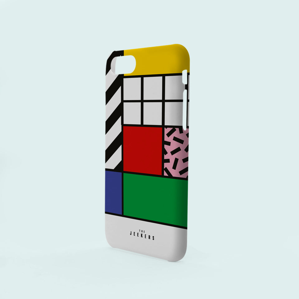 Iphone 8 Plus grid Mondrian Jeekers
