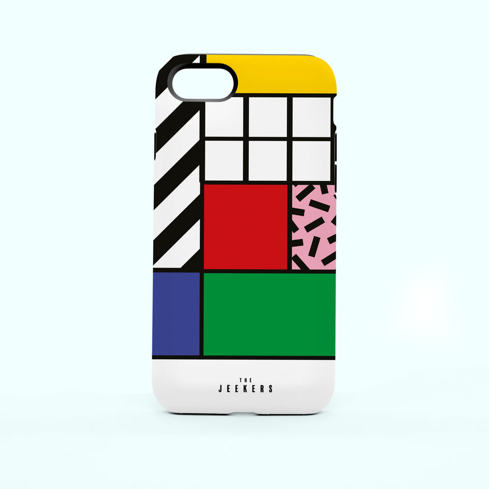 Iphone 7 grid Mondrian Jeekers