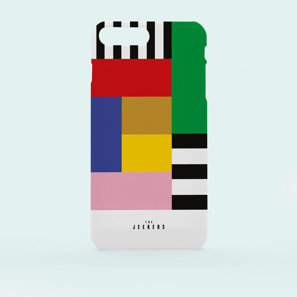Iphone 7 Plus stripes Mondrian Jeekers
