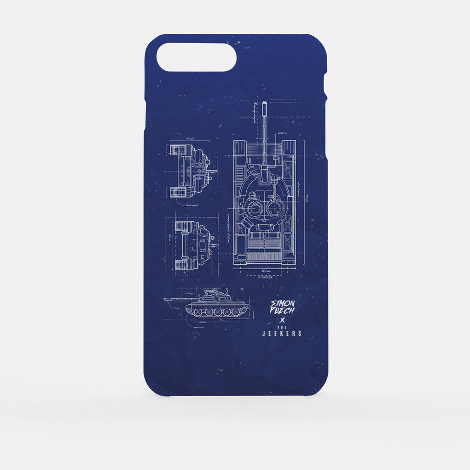 Iphone 7 Plus blueprint simon puechs Jeekers