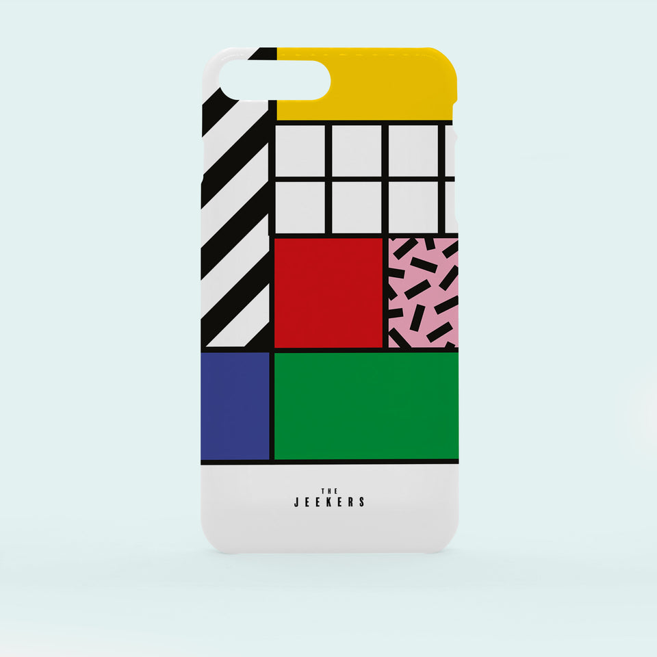 Iphone 7 Plus grid Mondrian Jeekers