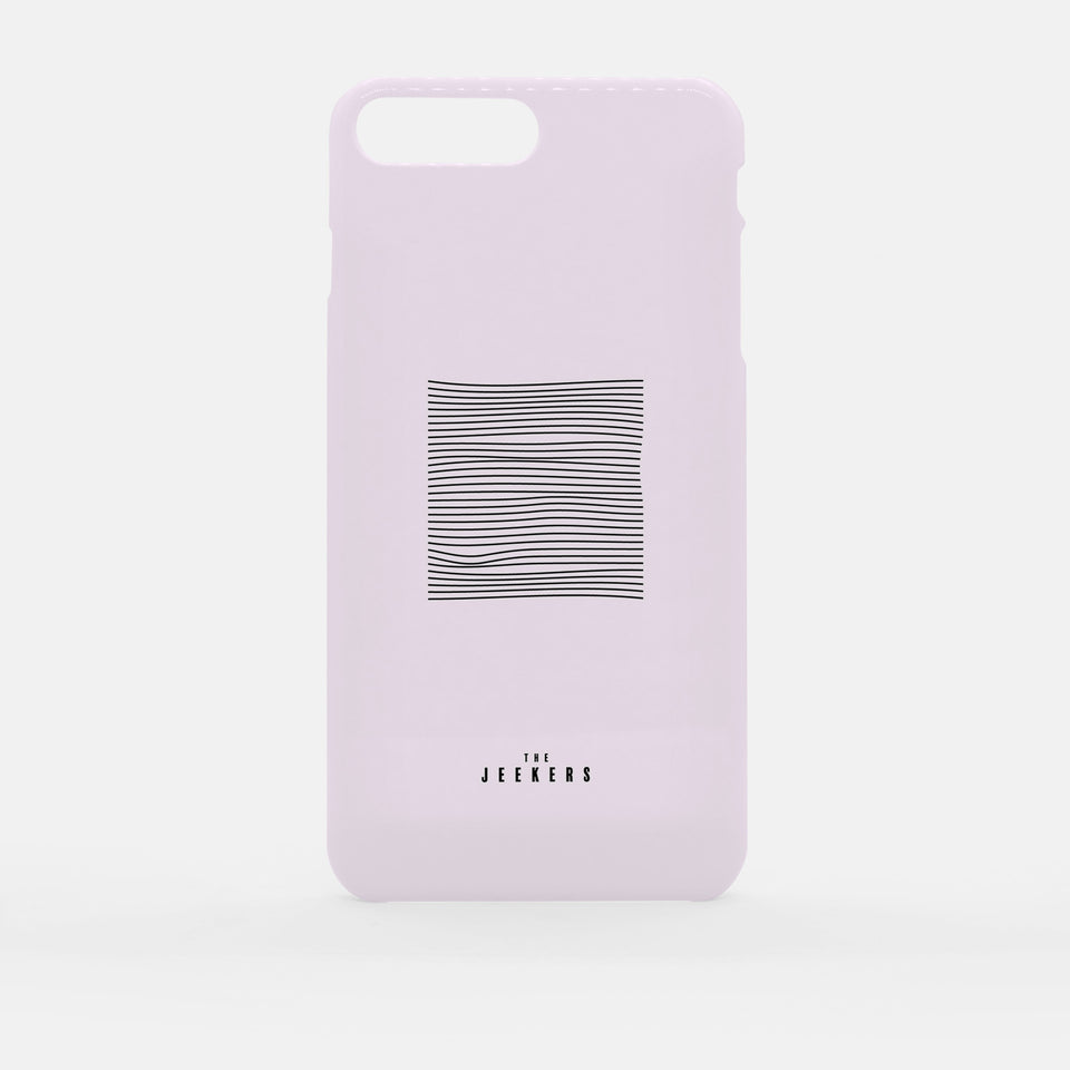 Iphone 7 Plus pinkdivision minimaliste Jeekers