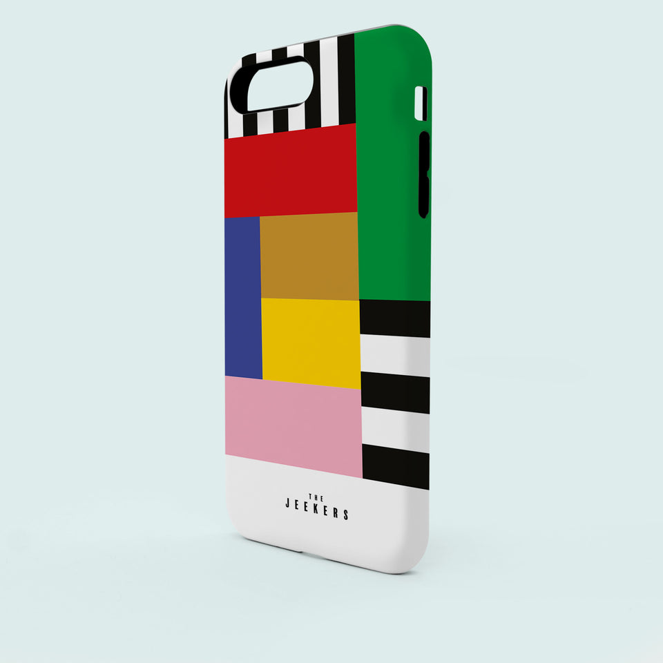 Iphone 6s stripes Mondrian Jeekers