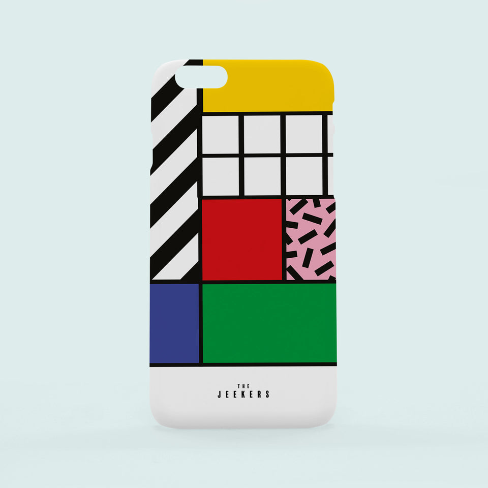 Iphone 6s Plus grid Mondrian Jeekers
