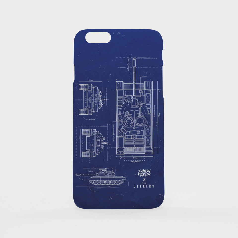 Iphone 6s Plus blueprint simon puechs Jeekers