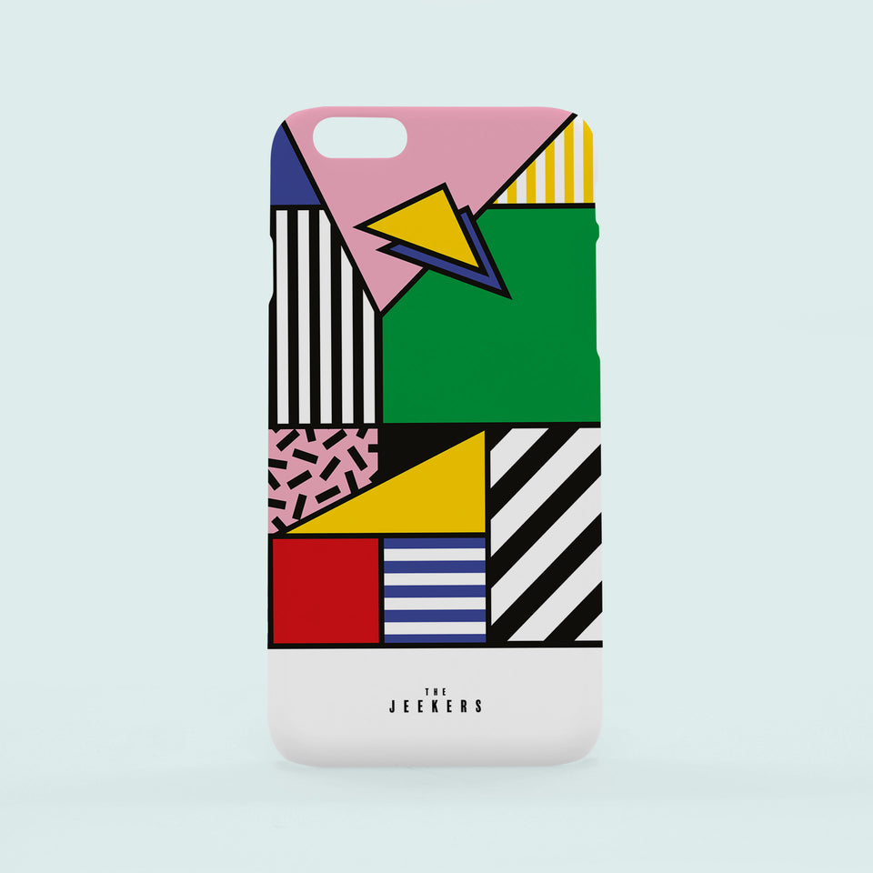 Iphone 6s Plus forms Mondrian Jeekers