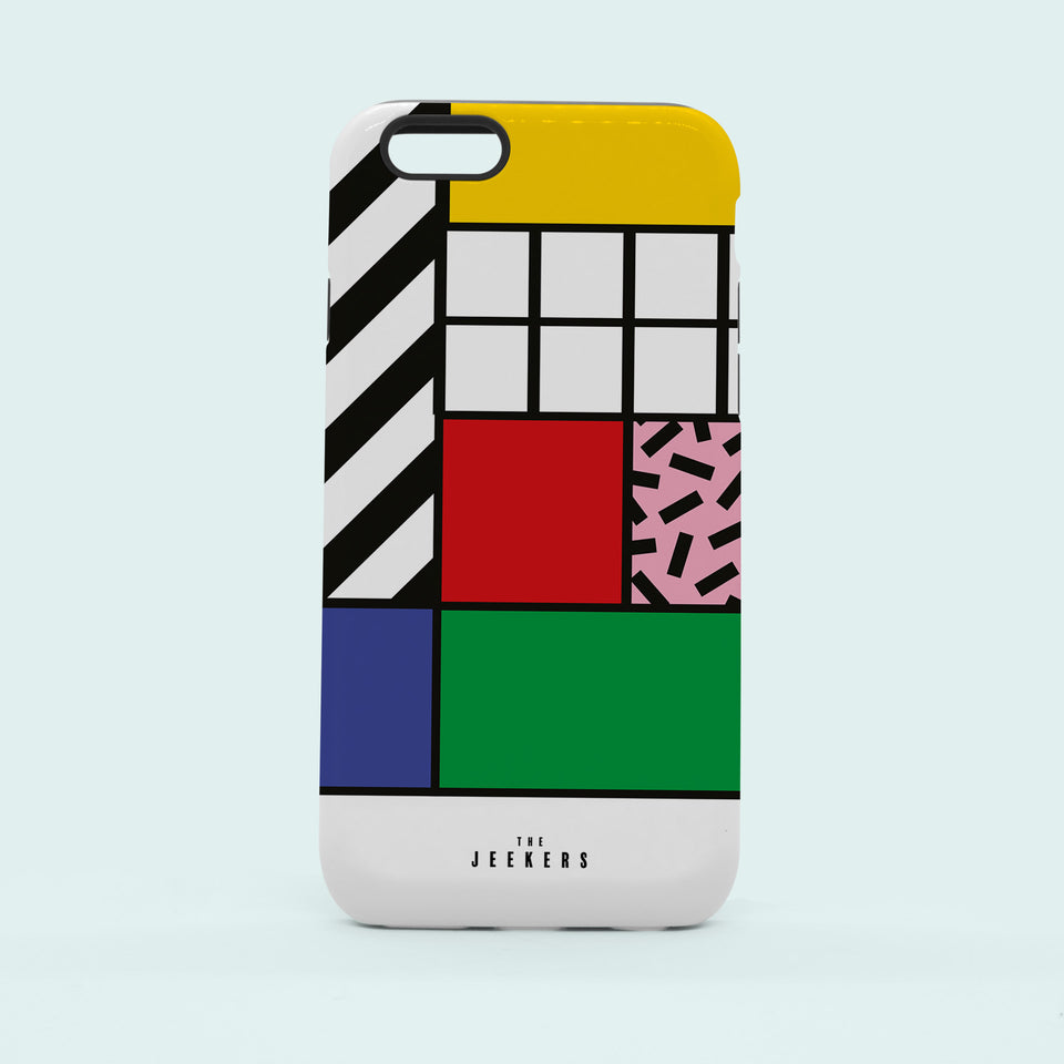 Iphone 6 grid Mondrian Jeekers