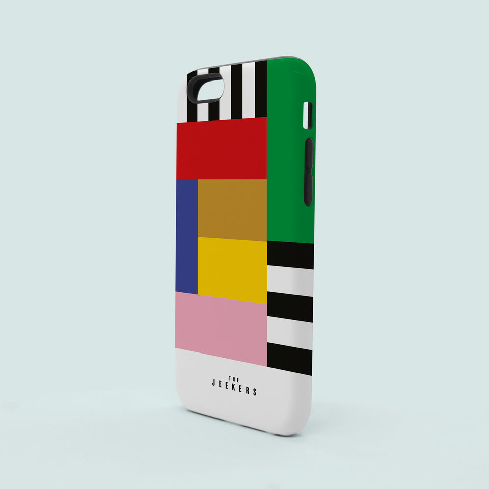 Iphone 6 stripes Mondrian Jeekers