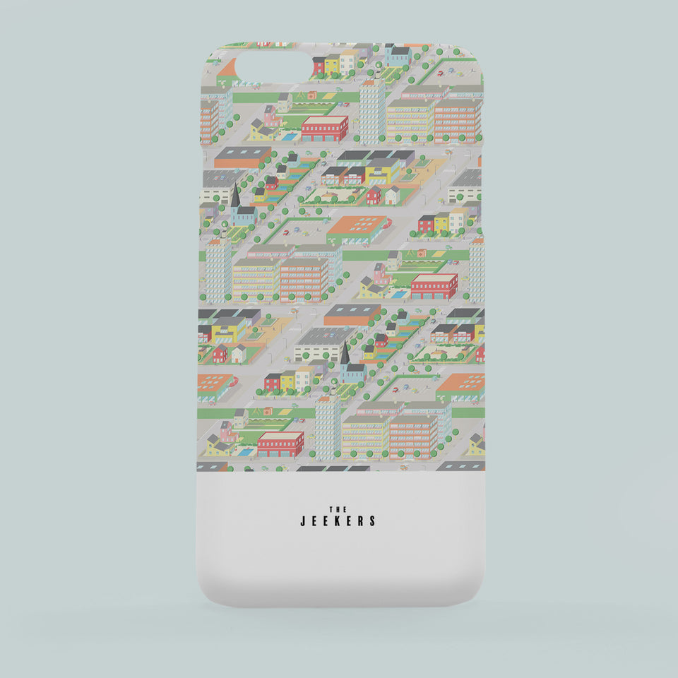 Iphone 6 Plus cityday pattern Jeekers
