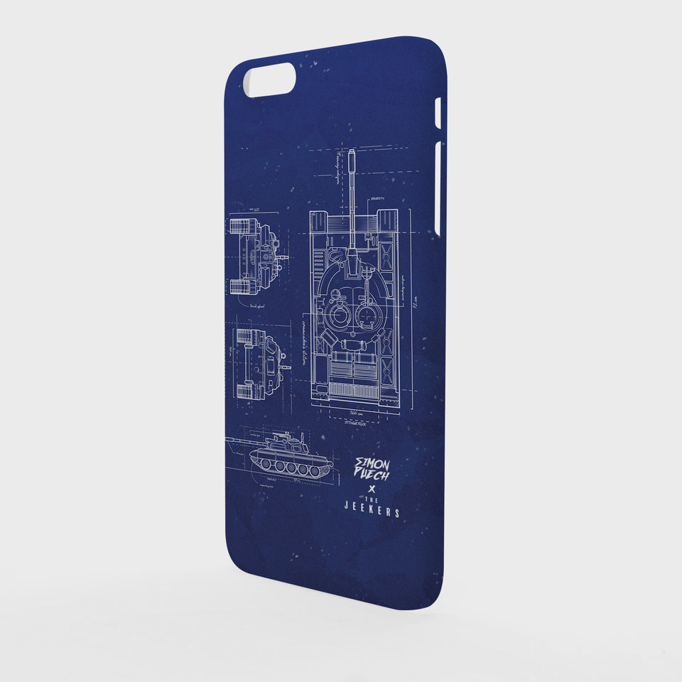 Iphone 6 Plus blueprint simon puechs Jeekers