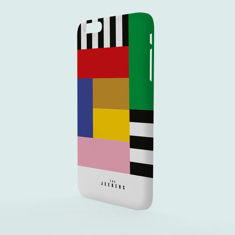 Iphone 6 Plus stripes Mondrian Jeekers