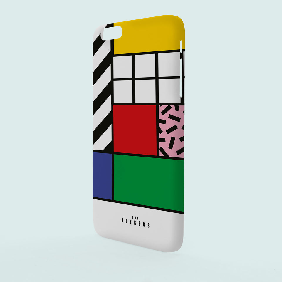 Iphone 6 Plus grid Mondrian Jeekers