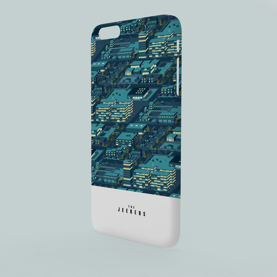 Iphone 6 Plus citynight pattern Jeekers
