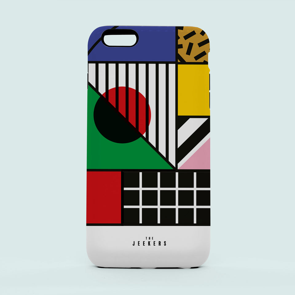 Iphone SE japan Mondrian Jeekers