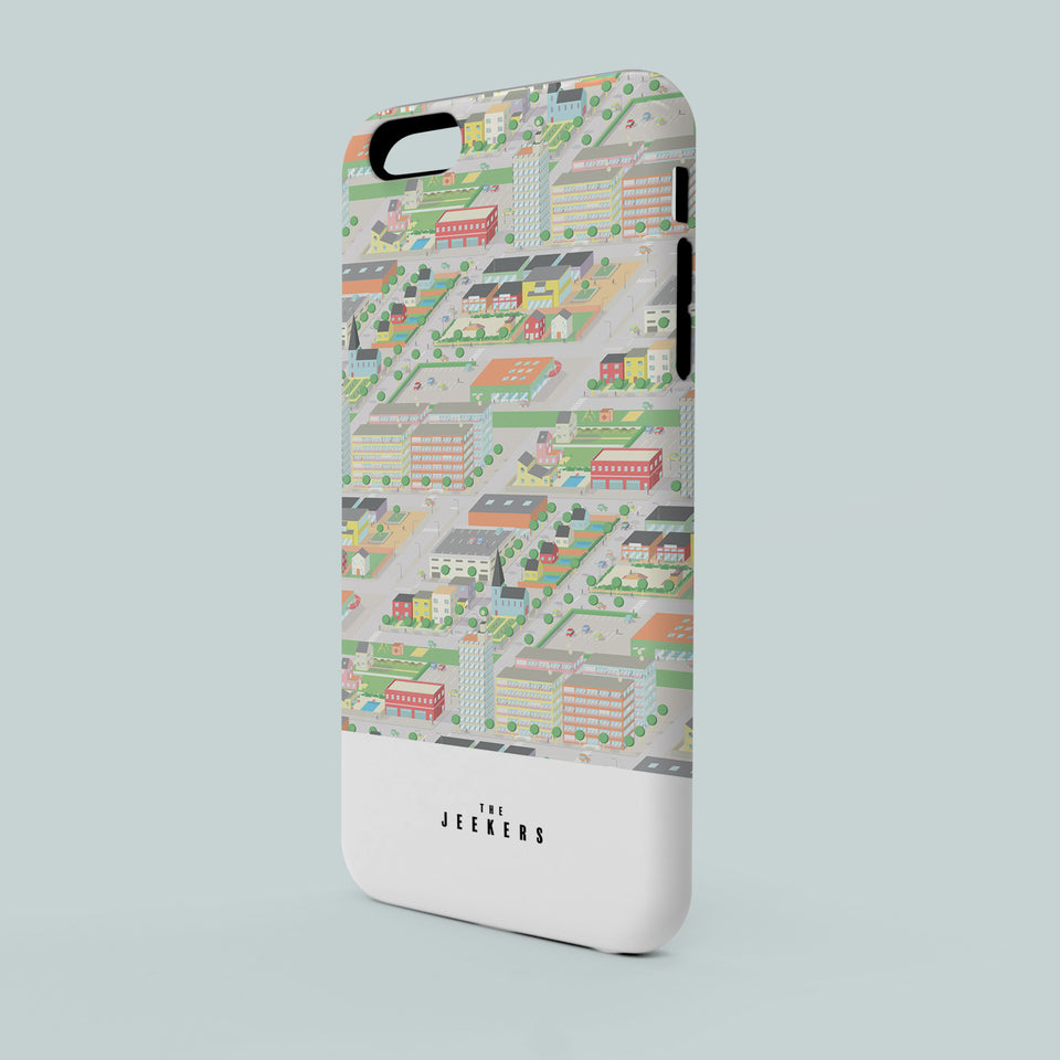 Iphone SE cityday pattern Jeekers