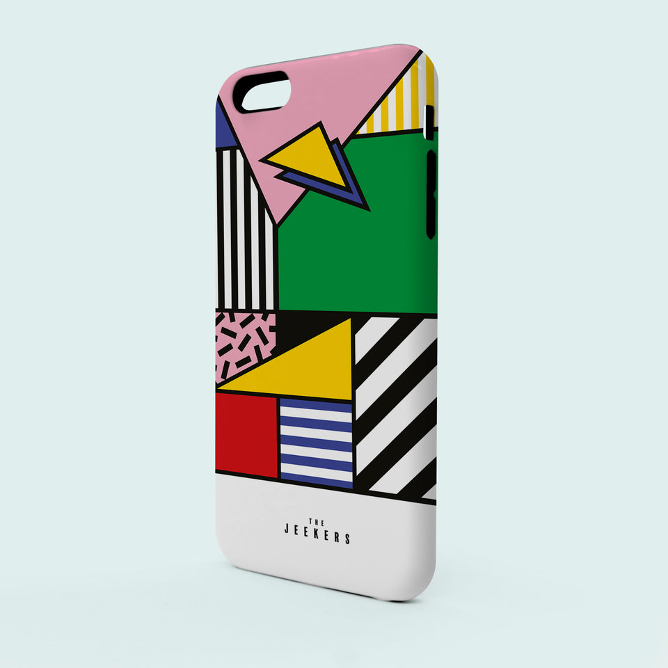 Iphone SE forms Mondrian Jeekers