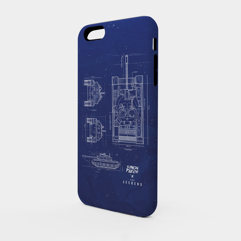 Iphone SE blueprint simon puechs Jeekers