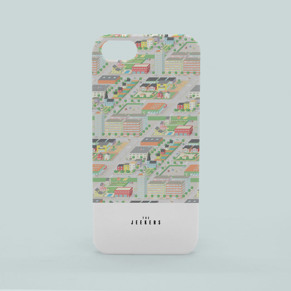 Iphone 5/5s cityday pattern Jeekers