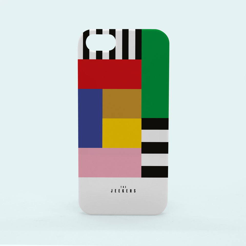 Iphone 5/5s stripes Mondrian Jeekers
