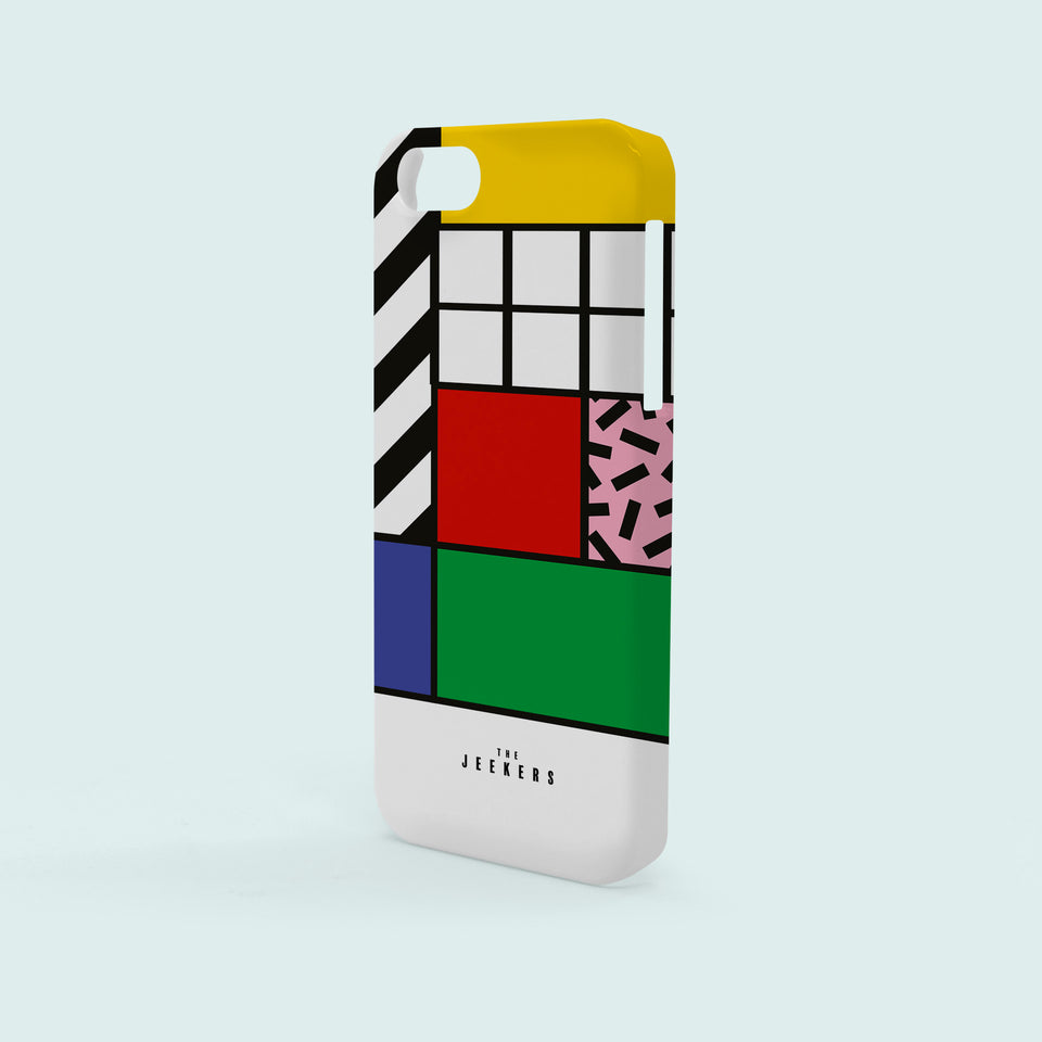 Iphone 5/5s grid Mondrian Jeekers