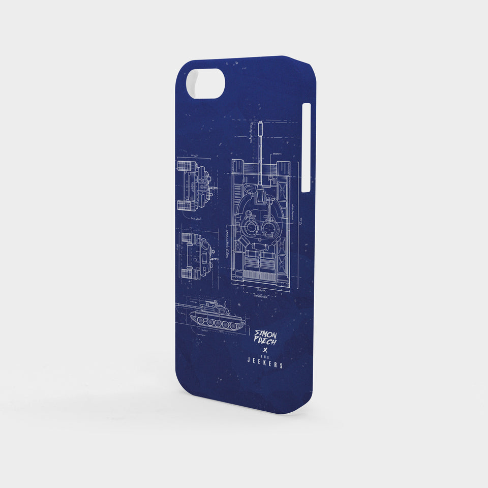 Iphone 5/5s blueprint simon puechs Jeekers