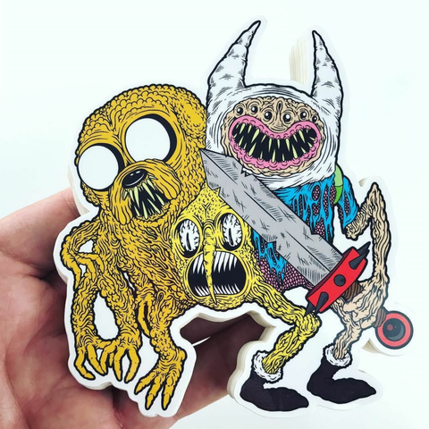 Adventure Grime Sticker - Volfbiter
