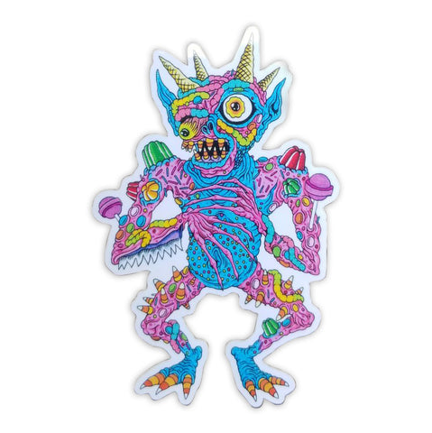 Candy Demon Sticker - Volfbiter