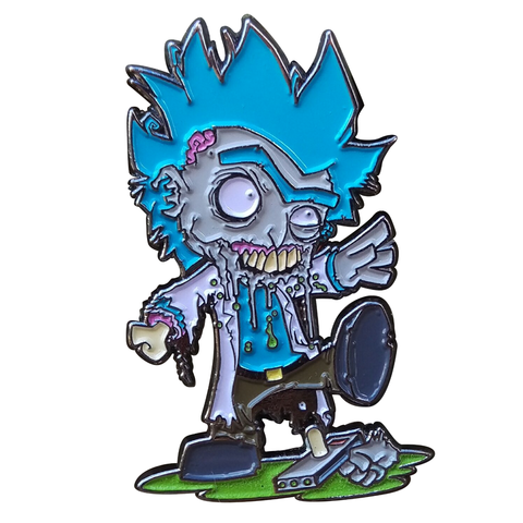 Zombie Rick Pin - Ryan Browne