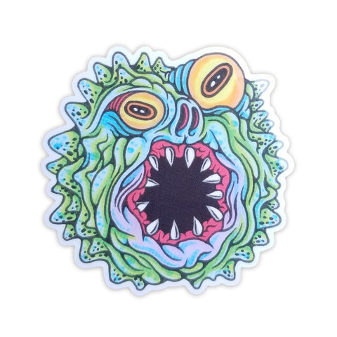 Monster Sticker - Volfbiter