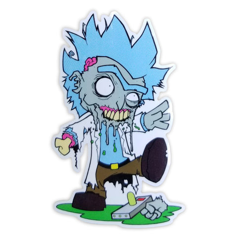 Zombie Rick Sticker - Ryan Browne